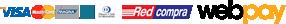 Tarjetas de Crédito y Redcompra mediante WebPay